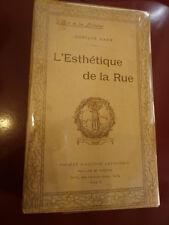 Gustave. Kahn L'esthétique de la rue Société d'Edition Artistique 1ère édition