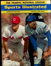 Sep 8 1969 Sports Illustrated Magazine With Pete Rose & Ernie Banks Cover EXMT