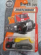 Matchbox 2016 #064/125 wheelin naufrageur red cab mbx heroic nouvelle coulée longue carte