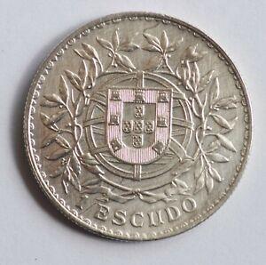 1 silver escudo 1916