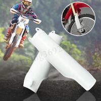 2x protège fourche pour Honda CRF250 CRF450 04-12 CRF250 CRF450R en plastique bl