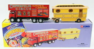 Corgi 1/50 Scale Diecast Model 97888 - Foden Closed Pole Truck With Caravan