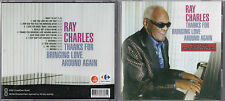 CD 12T RAY CHARLES THANKS FOR BRINGING LOVE AROUND AGAIN EXCLUSIVITE BELGIQUE