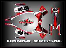 HONDA XR650L XL 650 XR 650L  SEMI CUSTOM GRAPHICS KIT POWER WHEELIE