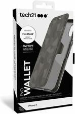 Étui Portefeuille Tech21 Evo pour iPhone x - Noir