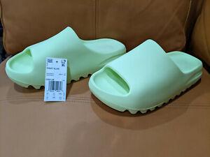 Yeezy Slide Green Glow - GX6138 - Size 10 - Free US Shipping