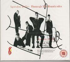 Spandau Ballet Through The Barricades Limited Ed. Cd + Bonus DVD New And Sealed
