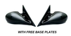 BMW E36 3 SERIES 2 DOOR CABRIOLET BLACK M3 ELECTRIC DOOR WING MIRRORS BASE PLATE