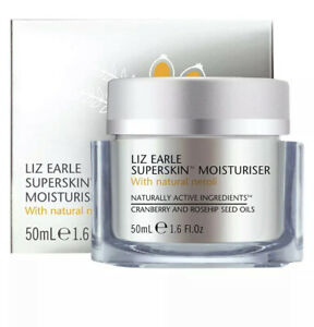 Liz Earle Superskin Moisturiser With Natural Neroli  50ml Boxed 🌿Free P&P🌿