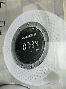 Badezimmer Bluetooth Lautsprecher,Radio,IPX6,Weiß,LED,Saugnapf,USB Ladung,Neu