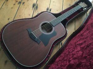 Taylor 320e Electro Acoustic Guitar USA 2015 Solid Mahogany
