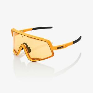 100% Glendale Sunglasses Soft Tact Mustard Soft Yellow Lens
