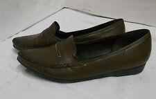 60er NOS Damenschuhe Mokassin Majeste Germany Leder Gr. 40 Vintage shoes