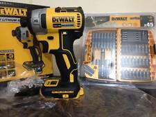 DeWalt DCF887N 18v Li-Ion XR Brushless 3-Speed Impact Driver + DT71518 45 Pieces