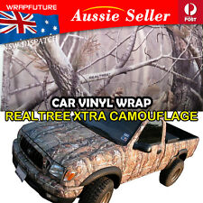 Autumn Realtree Camouflage Camo Vinyl Film Wrap 2M x 1.51M Car Hood Roof Sticker