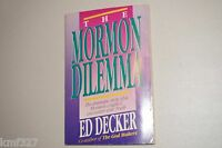 THE SKOUSEN BOOK OF MORMON WORLD RECORDS SIGNED by ED DECKER BOOK
