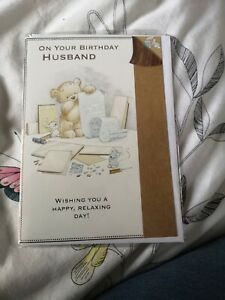Husband  birthday Card NEW - mouse
