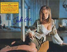 JULIE EGE SIGNED 007 JAMES BOND OHMSS 8x10 PHOTO - UACC & AFTAL RD AUTOGRAPH