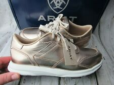 New in Box ~ Ariat Fuse Plus Rose Gold Sneaker Shoes Women's Size 6.5 B / 37