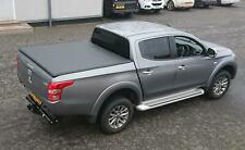 MITSUBISHI L200 SERIES 5 2016 ON DOUBLE CAB SOFT TRI FOLD TONNEAU COVER