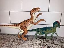 Vtg 1997 Hasbro Jp18 Snap Jaw Velociraptor Figure Jp07 Dinosaur Jurassic Park