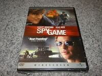 SPY GAME (2002, Widescreen Collector's Edition DVD) Brad Pitt BRAND NEW+SEALED