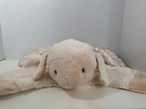 "Baby Gund Comfy Cozy Lopsy Lamb beige plush security blanket sheep lovey 22"""