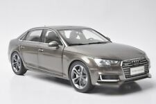 Audi A4L 2017 car model in scale 1:18 brown