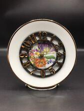 Flowery Floral Clock Plate !