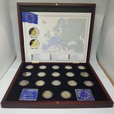 17 X 2 EUROS CONMEMORATIVOS 10º ANIV. DEL EURO (TYE) 2012 - EN ESTUCHE