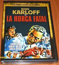 LA HORCA FATAL / THE MAN THEY COULD NOT HANG - English Español DVD R2 Precintada