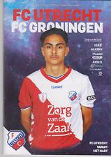 Programma / Programme FC Utrecht v FC Groningen 08-03-2019