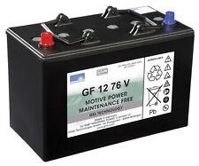 2 x Gel Akku/Batterie 12V / 76 Ah für Columbus Reinigungsautomat RA 55 B 40
