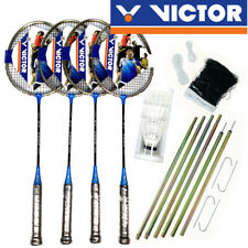 VICTOR 4 Player Portable Outdoor Leisure Badminton Set