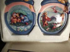 Bradford Editions Winnie Pooh Honeypot Adventure Ornament Collection 4 Set