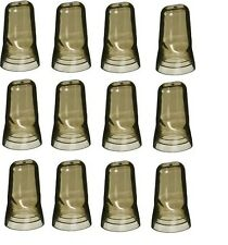 12 Liquor Bottle Universal Pour Spout Pourer COVER DUST CAP Bartender Bar A1