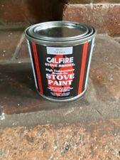 Calfire Heat Resistant High Temperature Brush On Stove Paint Matt Black