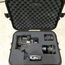 Mamiya RB67 Pro S Medium Format Camera w/ 3 Lenses ~ Case & Extra Film Holder