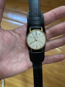 POLJOT gold plated mechanical  USSR  watch 17 je slim Wrist watch Russian