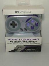 My Arcade Super Gamepad Wireless Controller, Nintendo SNES/NES Classic Edition