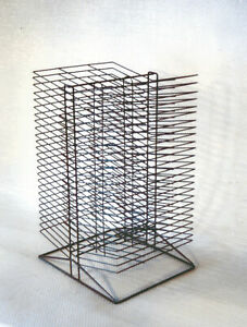 Sax All-Steel Double Sided Wire Drying Rack, 50 Shelves, 17 x 20 x 30 Inches,