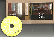 THE HEAD AND THE HEART Ghosts w/ RARE RADIO Version PROMO DJ CD single 2012