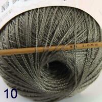 Thread No.8 Cotton Crochet Hand Yarn Craft Tatting Knit Wholesale 50g/400y 10