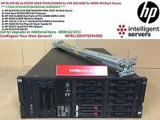 HP DL370 G6 2x X5550 32 Go P410i/256MB 2x 1 To SAS 2x 460 W Serveur Rack 4U
