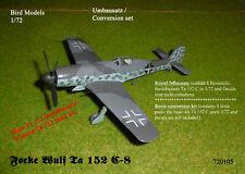 Focke Wulf Ta 152 C-8   1/72 Bird Models Resinumbausatz / resin conversion