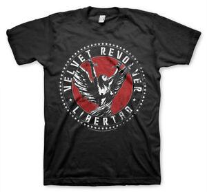 Officially Licensed Velvet Revolver Libertad Men's T-Shirt S-XXL Sizes