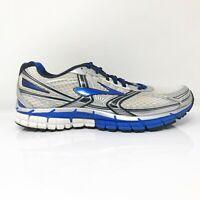 Brooks Mens Adrenaline GTS 14 1101581D177 Gray Blue Running Shoes Size 11 D