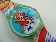 1992 Swatch Watch  Yuri GG118 Space craft package supplied
