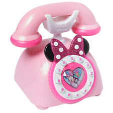 Disney Junior Minnie Mouse Telephone Playset Happy Helpers Lights & Sounds Toy