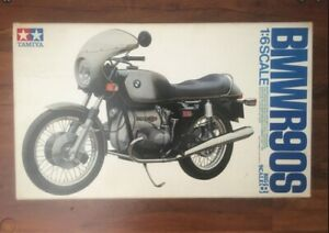 Tamiya 1:6 BMW R90S Plastic Model Kit - New Sealed Box